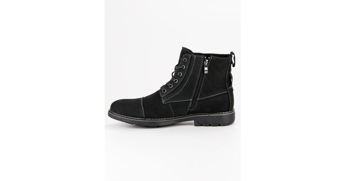 American Legyferfi Elegáns hu cipő magas fekete twngqHZ