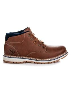 Sötét kék alkalmi cipő. Elérhető méretek  41 11 200 Ft · Barna stílusos  bakancs McKeylor ... 6554431190