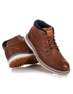 Sötét kék alkalmi cipő. Elérhető méretek  41 11 200 Ft · Barna stílusos  bakancs McKeylor Barna stílusos bakancs McKeylor 7fbf6b5a96