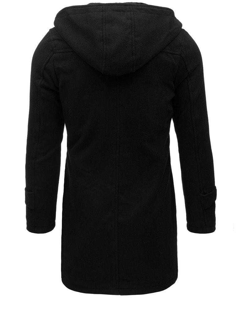 Egysoros fekete kabát - Legyferfi.hu c9ea879892