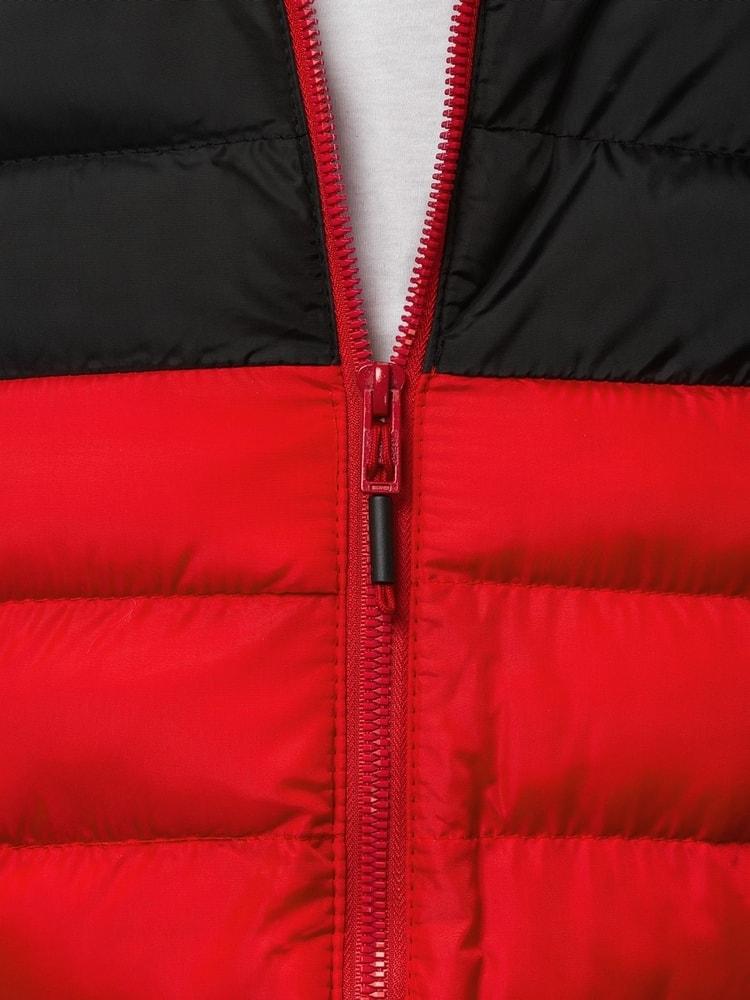 Egyszerű piros átmeneti dzseki OZONEE JS SM17 - Legyferfi.hu e2fce4dc39