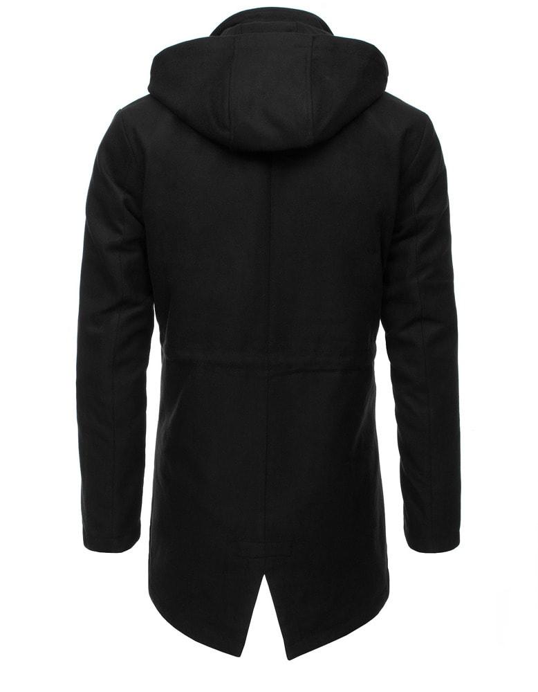 Fekete kapucnis kabát - Legyferfi.hu 30652d8925