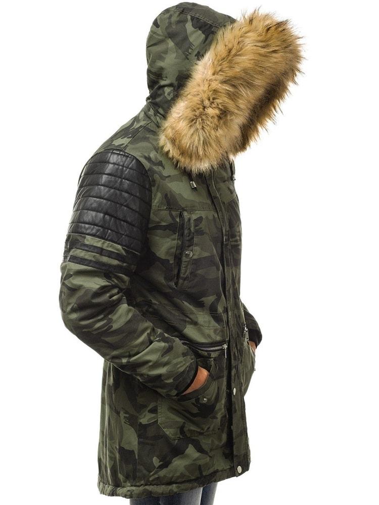 Téli terepmintás parka kabát OZONEE O 88832 - Legyferfi.hu 3fadf7d187